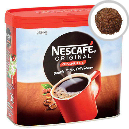 Nescafe Original Instant Coffee Granules Tin 750g Ref 12283921