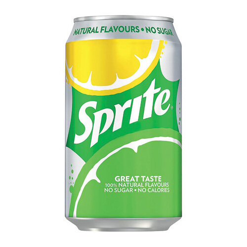 Sprite Zero Cans 330ml Pack of 24 100244
