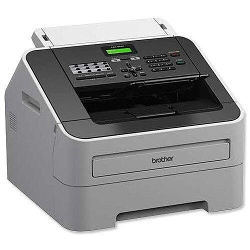 Brother FAX-2940 Mono Laser Fax Ref FAX2940ZU1