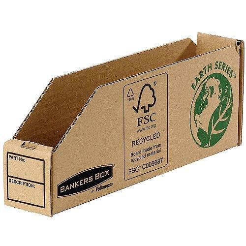 R-Kive Earth Corrugated Bin 51mm Pack 50
