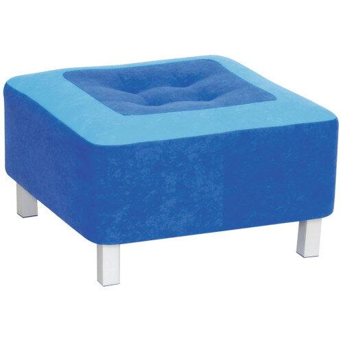 Premium Blue Pouf