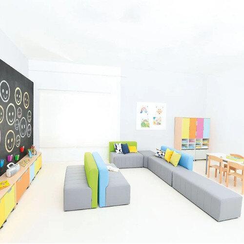 Modern Sofa Plus With No Back L/W/H: 120 x 60 x 40cm