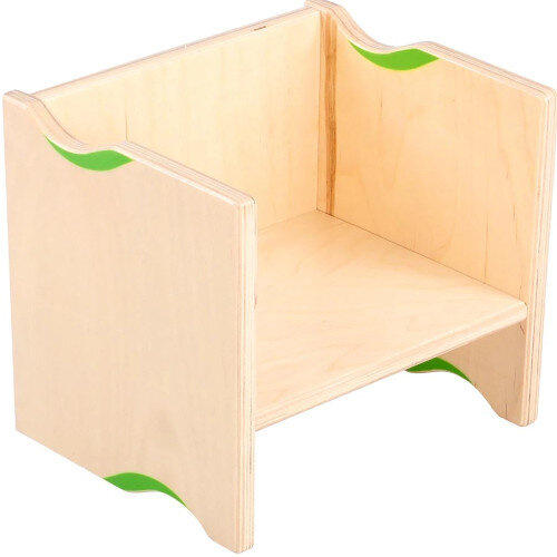 Flexi 2in1 Multifunctional Wooden Chair 21cm Height