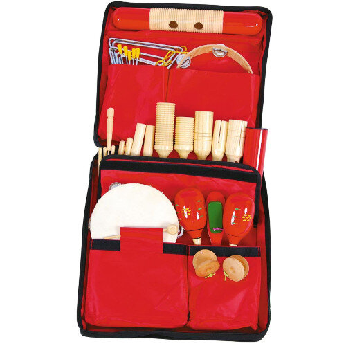 Little Musicians Bag of instruments - 20 Pieces Ref BC511001