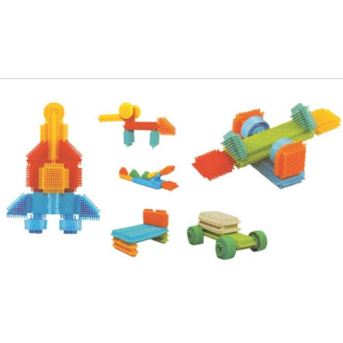 Construction sets - Bristle Blocks 256 pieces Ref:BC594127L