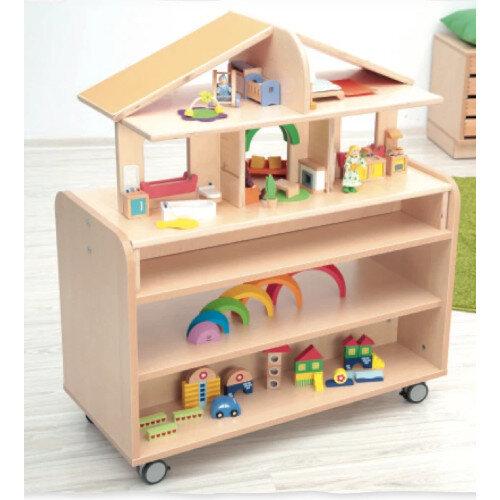 Mobile Dollshouse With Flexi S Cabinet Ref BCSET5091