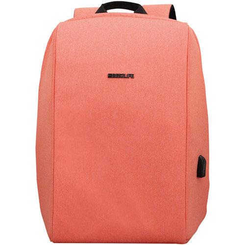 BestLife 15.6 Inch Travel Safe Laptop Backpack with USB Connector BB-3456PI