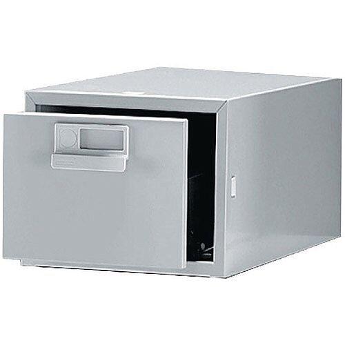 Bisley Cardindex 8x5in Single Grey FCB15