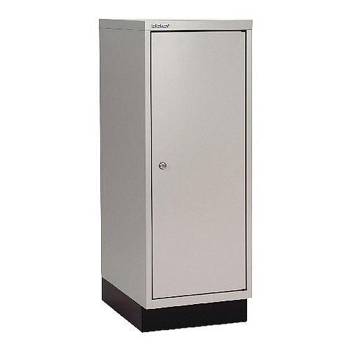 Bisley Cupboard 1Door 349X460X940 Grey Ba3/39