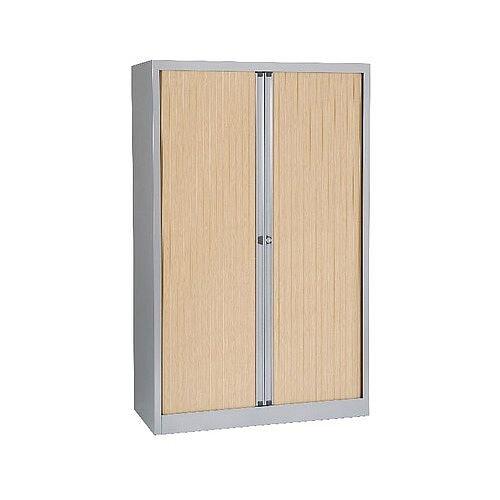 Bisley Eurotambour 1600mm 3-Shelf Maple