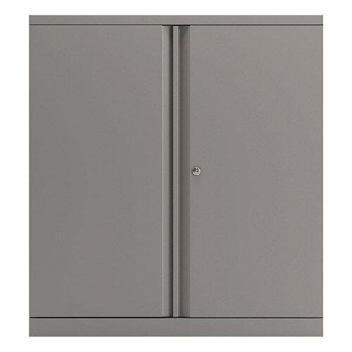 Bisley 2 Door Cupboard Goose Grey 1016mm Empty KF78709