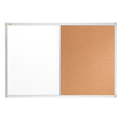 Franken ValueLine Magnetic Combination Board Lacquered/Cork Surface 900x600mm CB3402