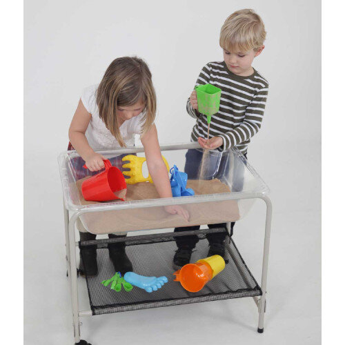 Special Desktop Stand &Tray - Two Casters - Dimensions: 58cm High, 48 x 70cm Long