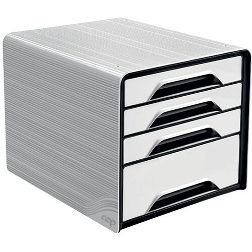 CEP Smoove 4 Drawer Module White 7-113 White