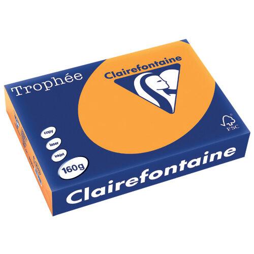 Trophee Card A4 160gm Orange Pack of 250 1042C