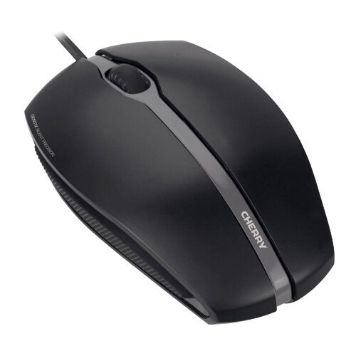 CHERRY GENTIX SILENT Wired Optical Mouse Black JM-0310-2