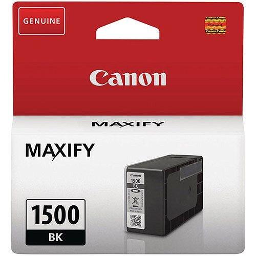 Canon PGI-1500 Bk Ink Cartridge Black 9218B001