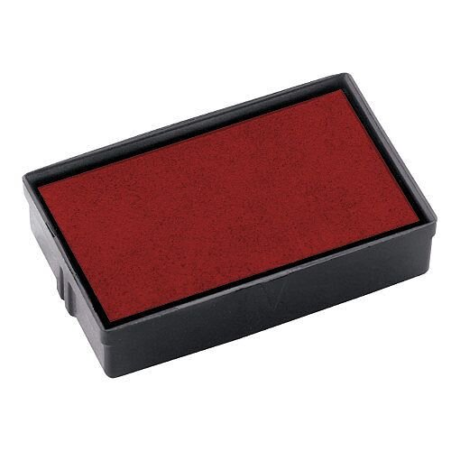 Colop Replacement Ink Pad E/10 to suit Colop Printer P10, L10, Soft 10, S120 and S160 Rubber Stamps Red