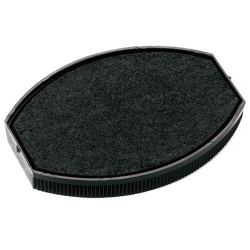 Colop Replacement Ink Pad E/O 55 To Suit COLOP Printer Oval 55 &Printer Oval 55 Dater Rubber Stamps Black