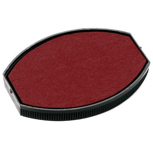 Colop Replacement Ink Pad E/O 55 To Suit COLOP Printer Oval 55 &Printer Oval 55 Dater Rubber Stamps Red