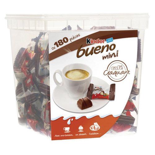 Kinder Bueno Mini Pack of 180 0401168