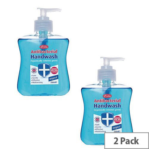 Antibacterial Hand Wash Liquid Soap 250ml (Pack of 2) KCWMAS/2