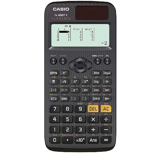 Casio FX-85GTX Scientific Calculator - Schools &Exams Approved - 276 Advanced Functions, Solar and Battery Powered, Protective Slide-on, Large Textbook Display Ref FX-85GTX