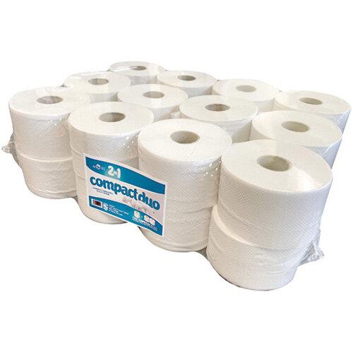 ESP 2Ply Micro Jumbo Toilet Roll 80m Pack of 24 JWH201