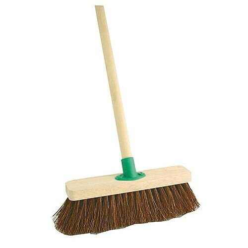 Bentley 12 inch Bassine Broom with Handle