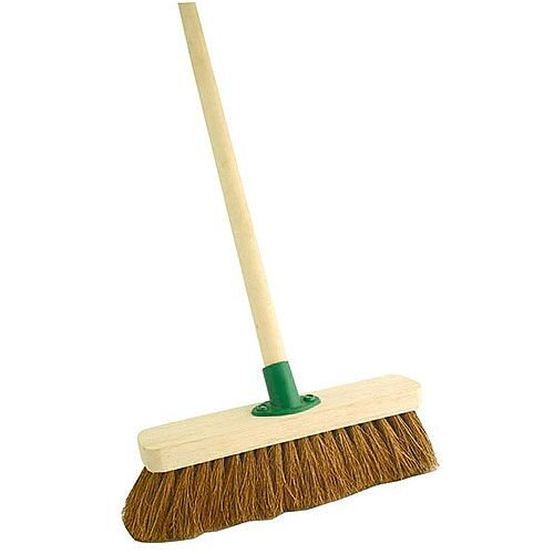 Bentley Soft 12 Inch Coco Broom with Handle