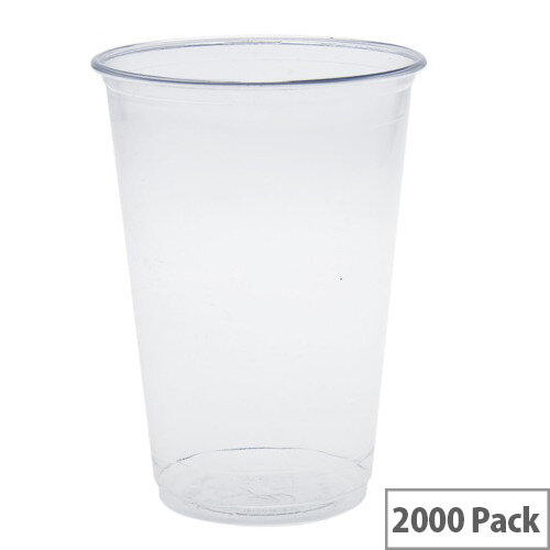 Compostable PLA 7oz/200ml Disposable Water Cooler &Cold Drink Cups Pack of 2000
