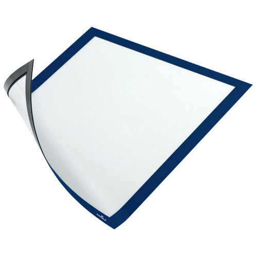 Durable Duraframe Magnetic A4 Blue Pack of 5 486907