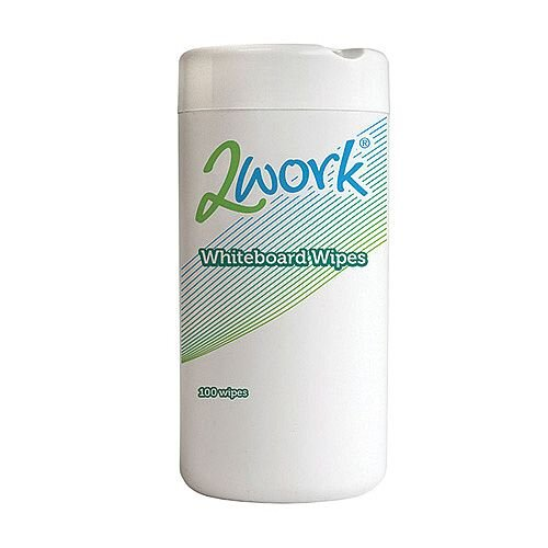 2Work Whiteboard Cleaning Wipes (Pack of 100) DB50372