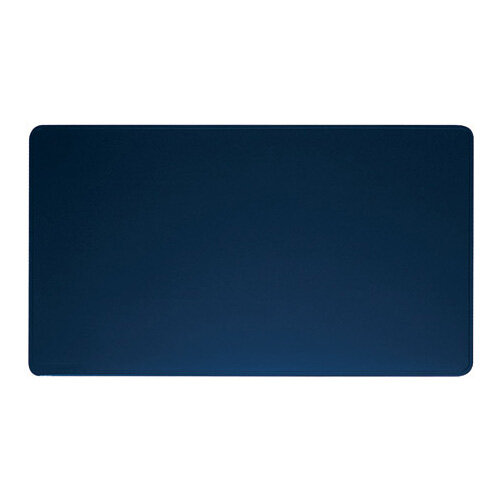 Durable Desk Mat Contoured Edge 530 x 400mm Dark Blue 710207