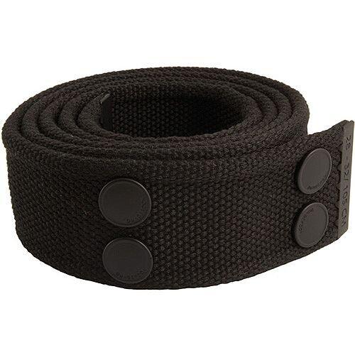 Snickers Canvas Belt Black &Black Size 33 &42 DW7