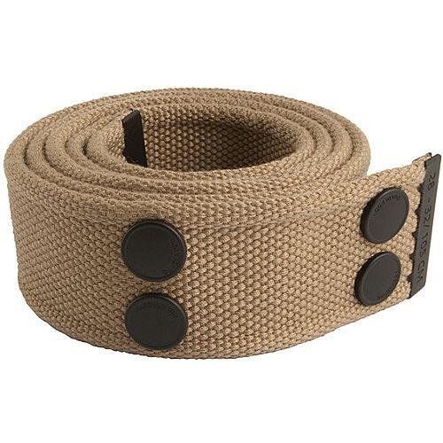 Snickers Canvas Belt Khaki &Black Size 28 &32 DW7