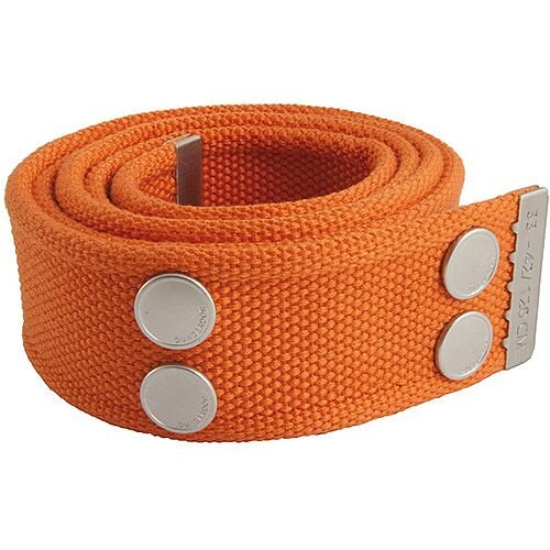 Snickers Canvas Belt Orange &Silver Size 28 &32 DW7
