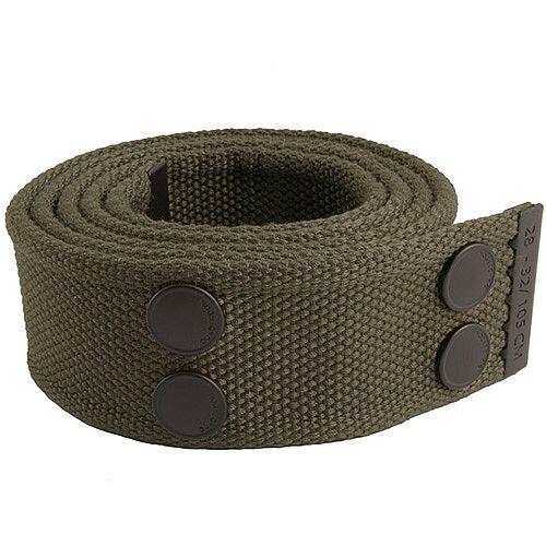 Snickers Canvas Belt Olive &Black Size 33 &42 DW7
