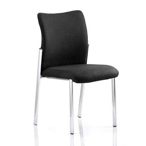 Academy Boardroom &Visitor Chair Black Fabric Back