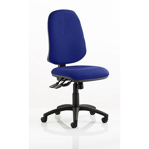 Eclipse XL III Lever Task Operator Office Chair Serene Blue