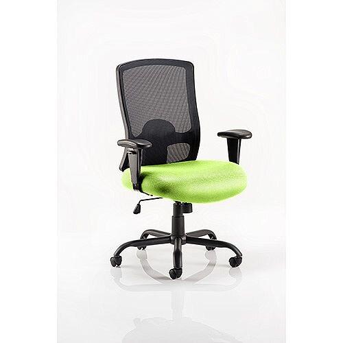 Portland HD Mesh Back Task Operator Office Chair Swizzle Green