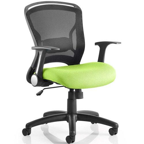 Zeus Task Operator Office Chair Swizzle Green