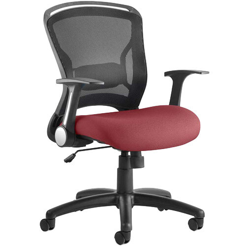 Zeus Task Operator Office Chair Chilli Red