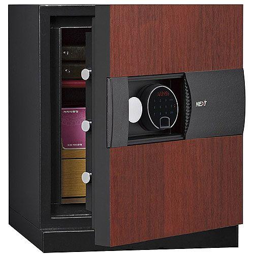 Phoenix Next LS7001FC Luxury Safe Size 1 Cherry with Fingerprint Lock Cherry 47L 60min Fire Protection