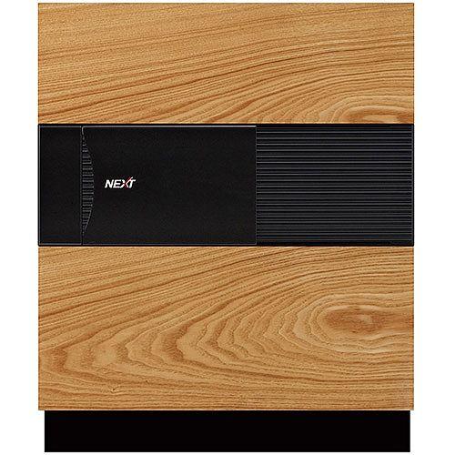 Phoenix Next LS7001FO Luxury Safe Size 1 Oak with Fingerprint Lock Oak 47L 60min Fire Protection