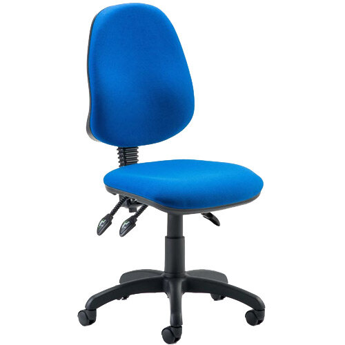 Eclipse III Lever Task Operator Office Chair Blue