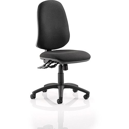 Eclipse XL III Lever Task Operator Office Chair Black