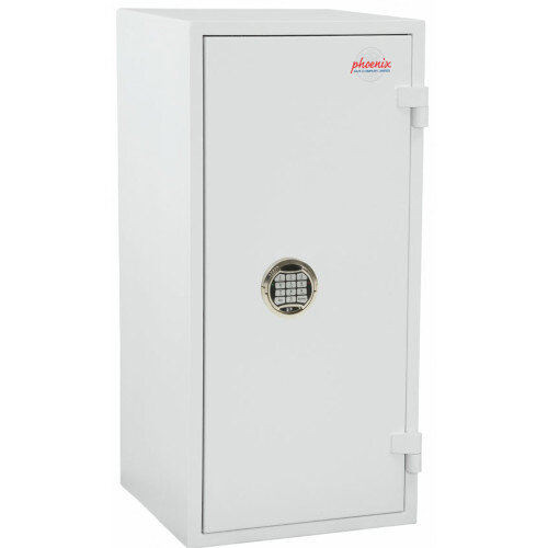 Phoenix Citadel SS1193E Size 3 Fire &S2 Security Safe with Electronic Lock White 78L 30mins Fire Protection