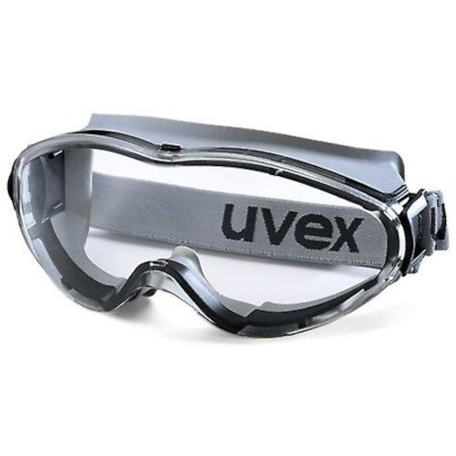 Uvex Ultrasonic Safety Goggle Grey Frame Clear Pack of 4 Ref E02004-4