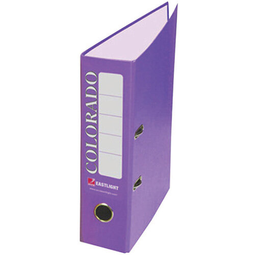 Rexel Colorado 80mm A4 Lever Arch File Purple Pack of 10 28847EAST